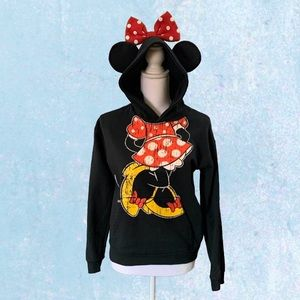 Disney Minnie Hoodie Sweatshirt Sz Youth XL